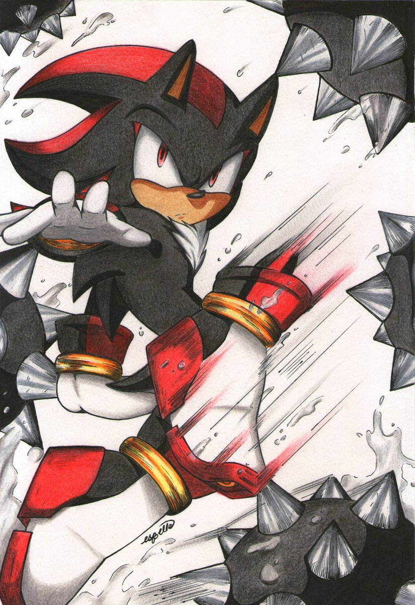 Esbellecommission Open On Twitter Shadow The Hedgehog
