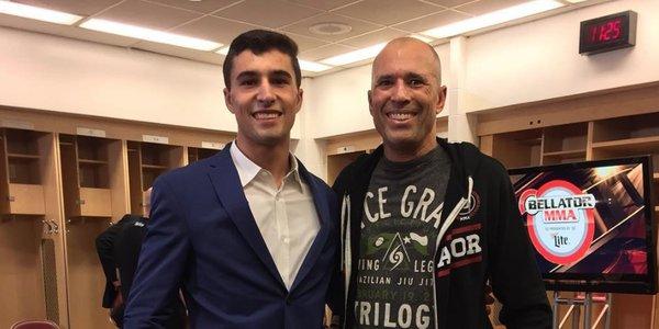 Filho de Royce, Khonry Gracie assina contrato com o Bellator e estreia em janeiro https://t.co/p4tpRplUUh