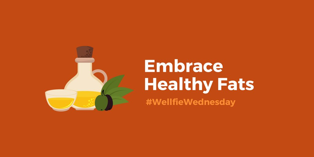 This #WellfieWednesday, don't be afraid to eat healthy fats. https://t.co/4ay3XHlqtF