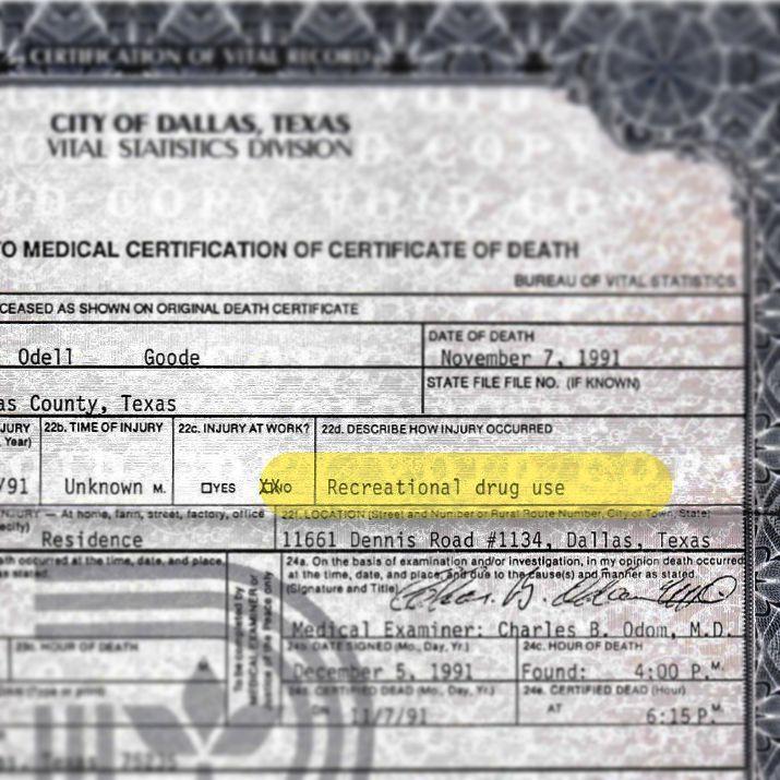 Buried On Twitter An Amendment To Leonard Goode S Death