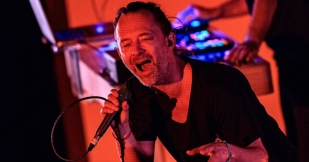 Watch Thom Yorke Perform New Song 'I'm a...