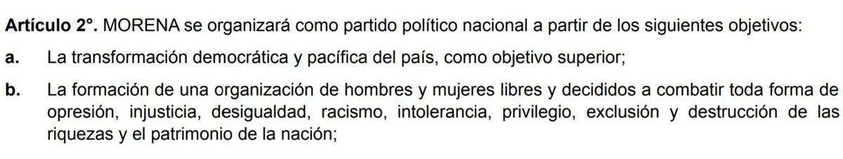 NO SE CONFUNDAN: Morena no modificará sus estatutos libertarios ni su avanzado programa de gobierno a partir de aceptar el apoyo del PES para #2018. Y ningún líder de ese partido estará en el gabinete de AMLO. Mañana a las 11 se dará a conocer su equipo de trabajo.