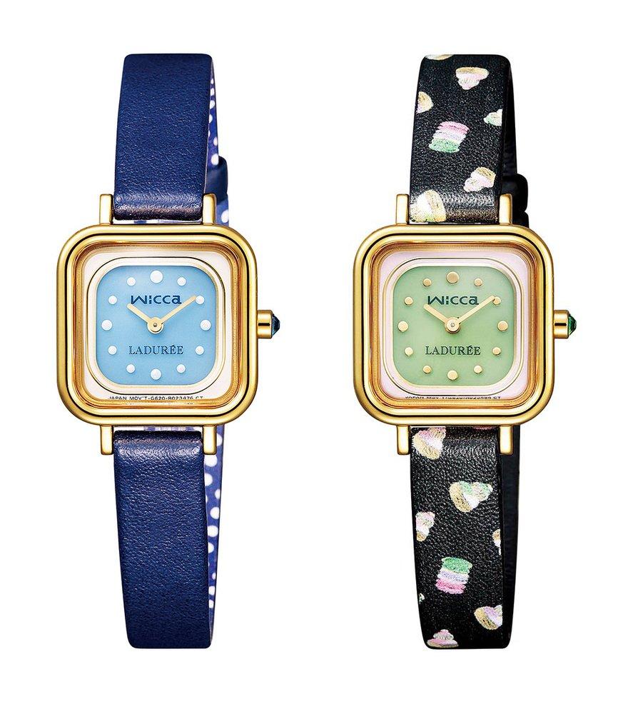 スクレ・ラデュレ×シチズン時計のウィッカ、マカロンカラーのフェミニンな全3型 - https://t.co/aPM4piLLD7