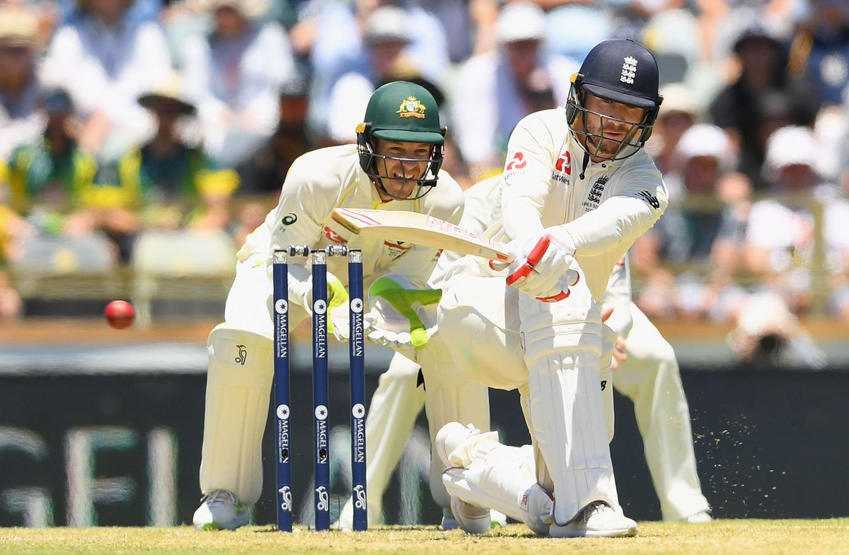 Fifty for Mark Stoneman, and hundred for England  Can he convert it to a big one?   https://t.co/n5hEATb5m5 #Ashes