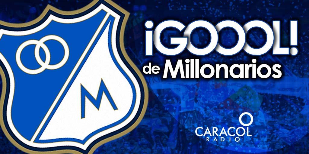 ⏰32 G⚽️⚽️⚽️L De Matías De Los Santos:   @MillosFCoficial 1-0 @SantaFe, partido de ida final #LigaÁguila. #FinalCapitalina https://t.co/b3YSeGuQLg
