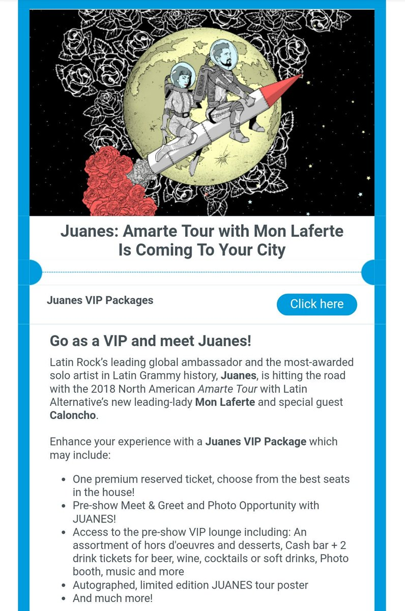 Wejuanes On Twitter Get Your Meetandgreet Vip Tickets For