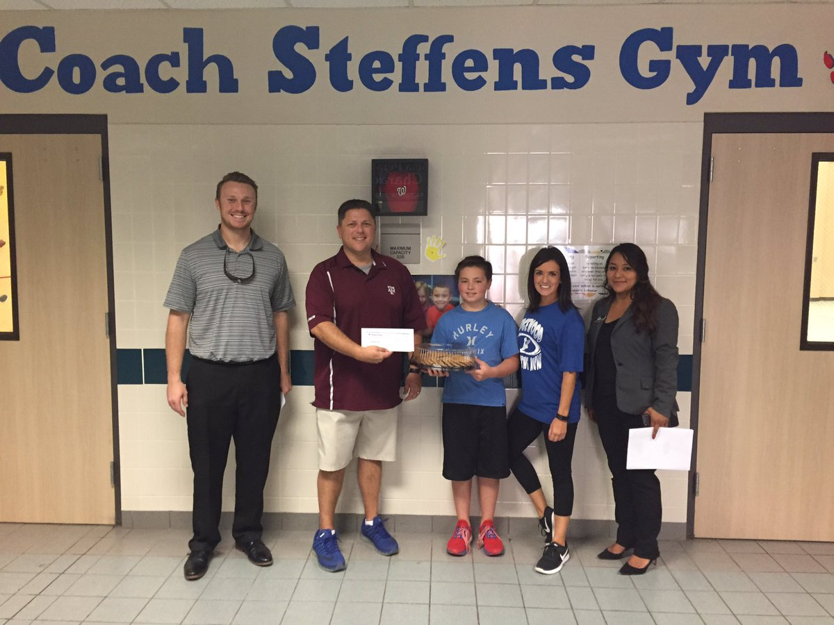 Wedgewood Elementary On Twitter Thank You Norman Frede Chevrolet For Making A 100 Donation To Our Wedgewood Pe Department