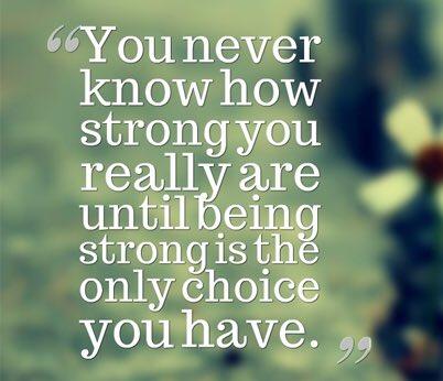Be strong. #wednesdaythoughts #WednesdayWisdom