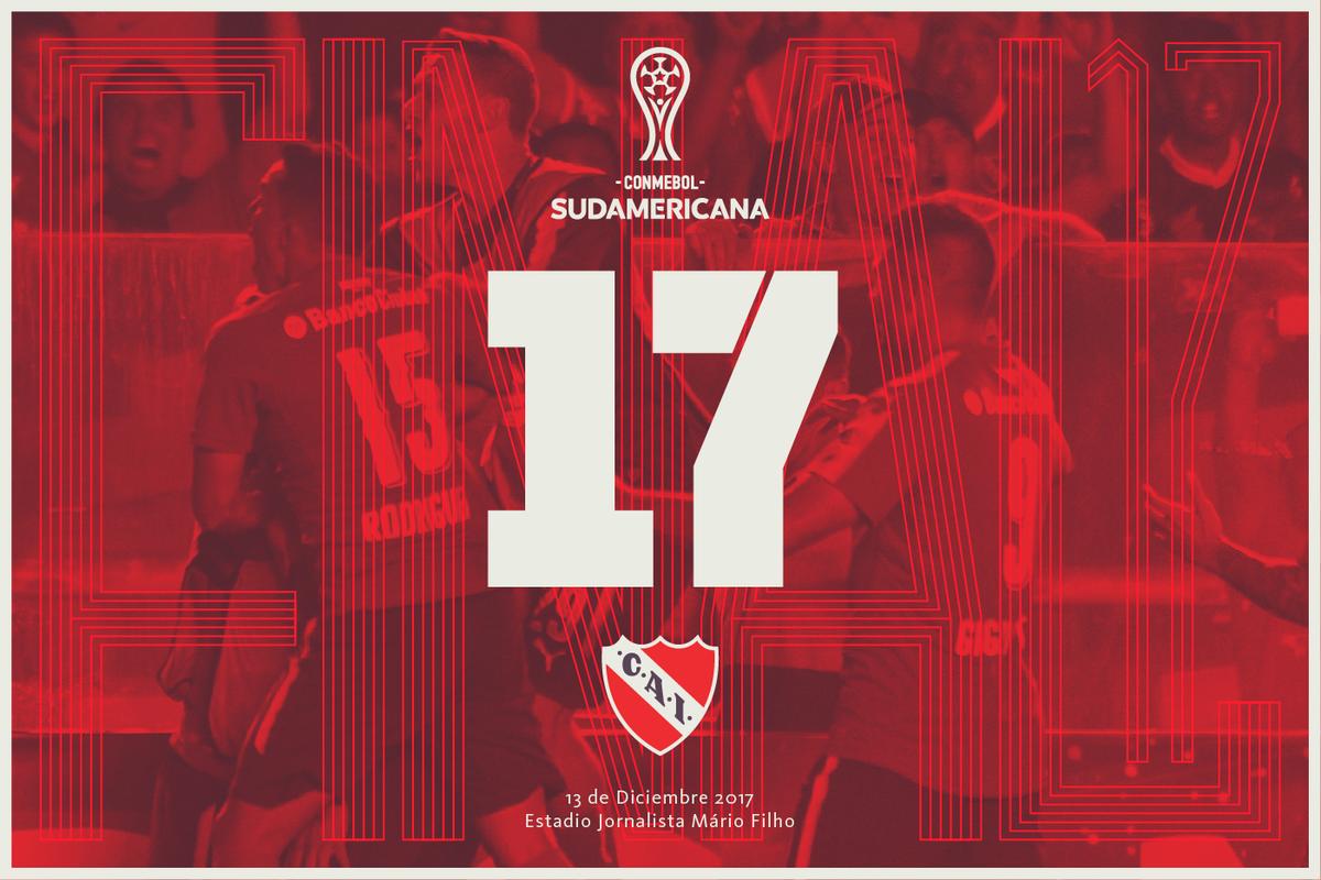 17 en serio. Sin versos.  Arrodíllense ante el #ReyDeCopas.  #TodoRojo 🔴