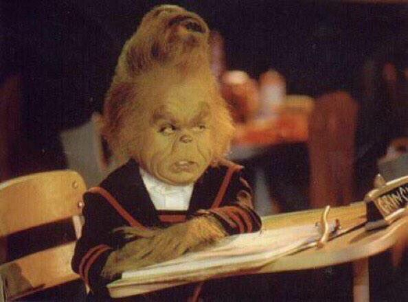 When you're ready for Christmas but you still have to take finals