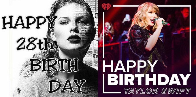 Happy 28th Birthday to the beautiful, talented and amazing Taylor Swift!