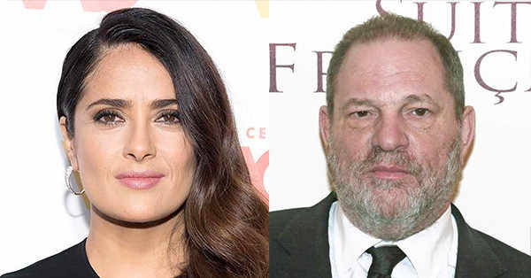 Salma Hayek has come forward with her own experiences involving Harvey Weinstein: 'He was my monster.' https://t.co/pZc6tz7kgq