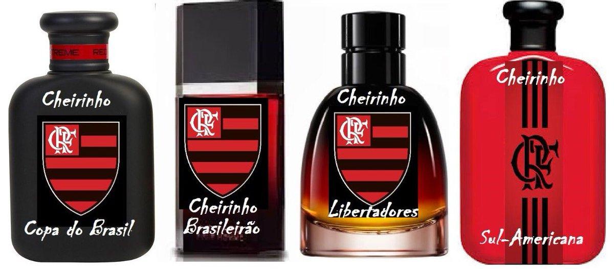 KIT CHEIRINHO FLAMENGO: Diversas fragrân...