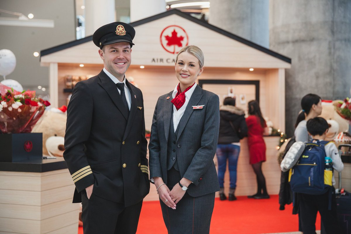 The festive season is here and Canada's airports are full of happy folks welcoming loved ones home for the holidays. This year, we're making airport reunions even more memorable with our Welcome Home crew at #YUL, #YVR, and #YYZ. #FlyTheFlag