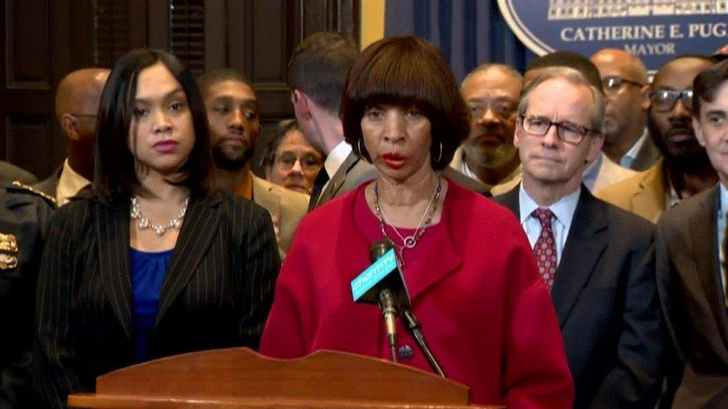 Mayor Pugh announces anti-violence program for Baltimore City https://t.co/rItedClqKS