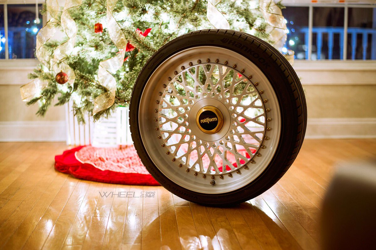 'tis the season; don't forget to treat yourself!  Contact us for killer deals all month long on forged @Rotiform wheels
