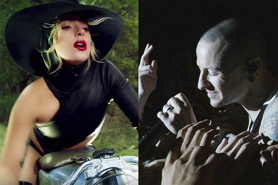 Final Round! How will you vote in the #FuseTop40? #LadyGaga and #JohnWayne is taking on #LinkinPark and #OneMoreLight GET YOUR VOTES IN NOW! This final round ends Friday! https://t.co/eaPFzOsfCW