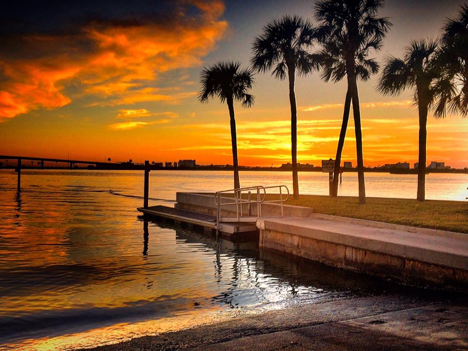 #Clearwater #Florida #sunset #December Thanks to Toni Colon.