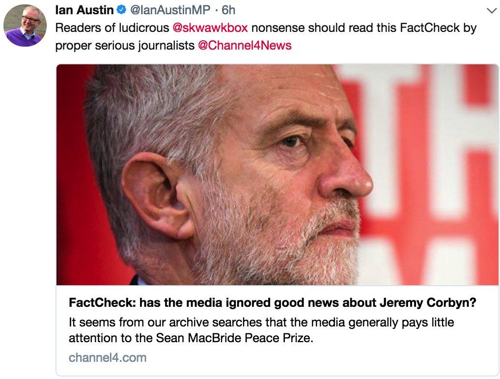 'Bully' MP Austin attacks the SKWAWKBOX....