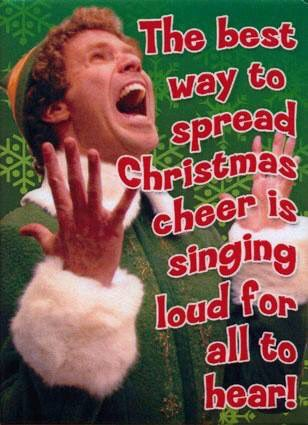 Our #Christmas  Concert starts in just 4 days! We know Buddy is :) Who&#39;s ready to celebrate the season with us with song and sweets? P.S. Use the code tannenbaum and receive 25% of your ticket (while supplies last).  http://www. freefallstage.com  &nbsp;   #folsom <br>http://pic.twitter.com/tPCfQ6Y7HL