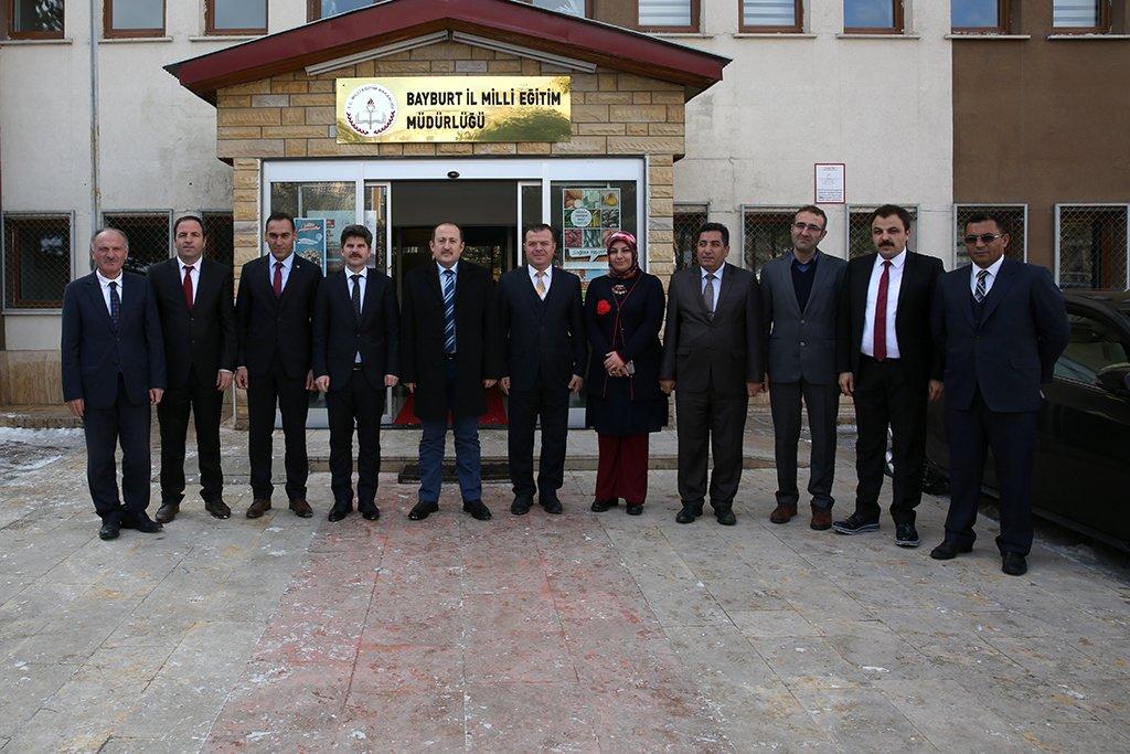 Vali Ali Hamza Pehlivan, İl Milli Eğitim...