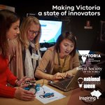 Get into #STEM! New $50K p'ship w/ @RoyalSocietyVic to deliver #Vic @inspiringaus prg in @Aus_ScienceWeek. #SpringSt https://t.co/eZPivOTCUv