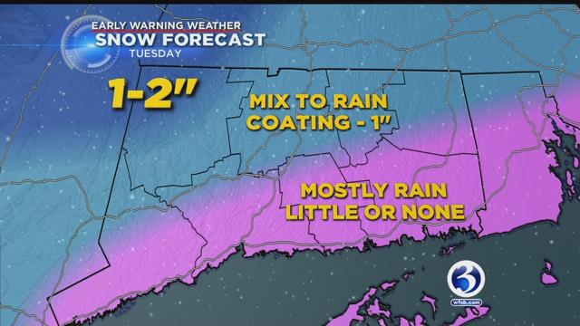 A wintry mix is headed our way. @BruceDePrest has a quick update before the news on Channel 3 at 11pm https://t.co/AKWALuukkV