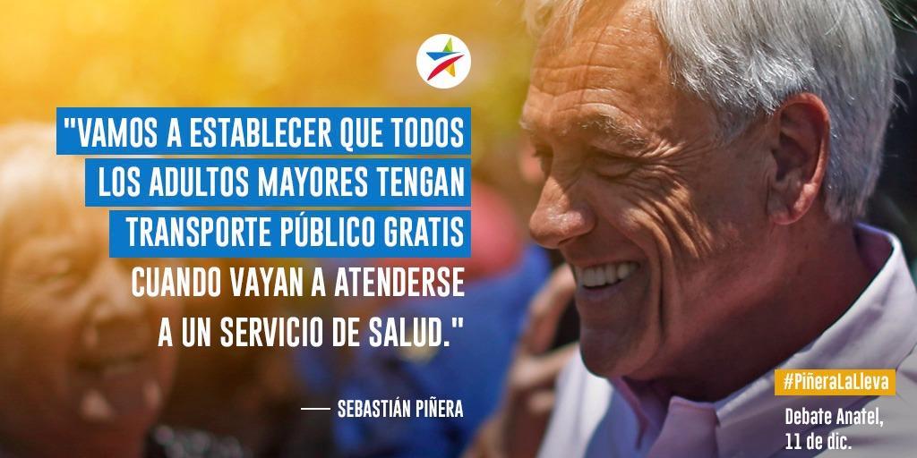 #PiñeraLaLleva en mejorar las pensiones...