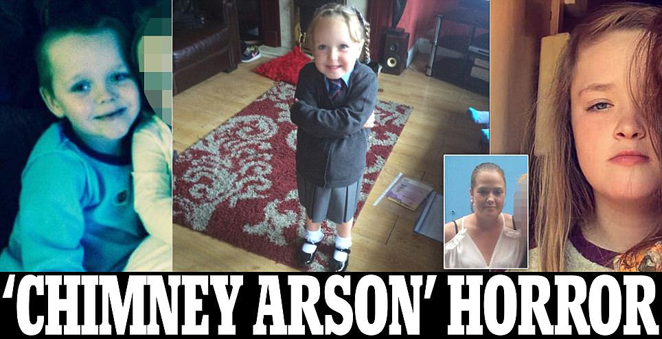 Family 'were killed by CHIMNEY arsonists who climbed onto roof and poured fuel into their home to start blaze' https://t.co/A8aeFYxlU8