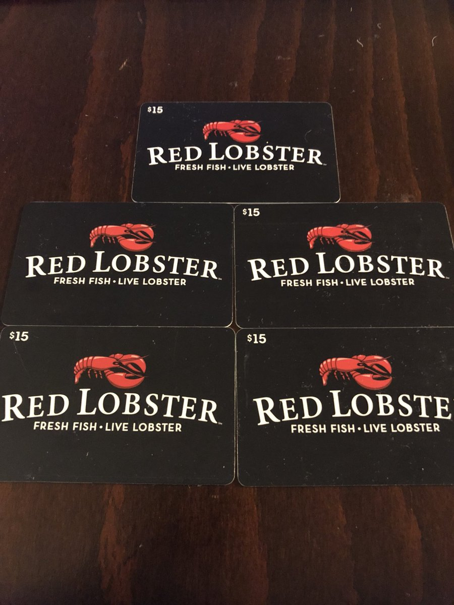 murr on twitter i feel like christmas just came early i found 5 redlobster gift cards in my desk drawer thank you santa - Red Lobster Open On Christmas