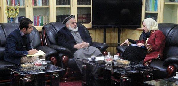 جلالتمآب دکتر عبدالبصیر انور وزیر عدلیه ج.ا.ا با  رییس بخش حاکمیت قانون یوناما در افغانستان و هیئت همراه شان، دیدار و  گفتوگو کرد. moj.gov.af/fa/news/334527