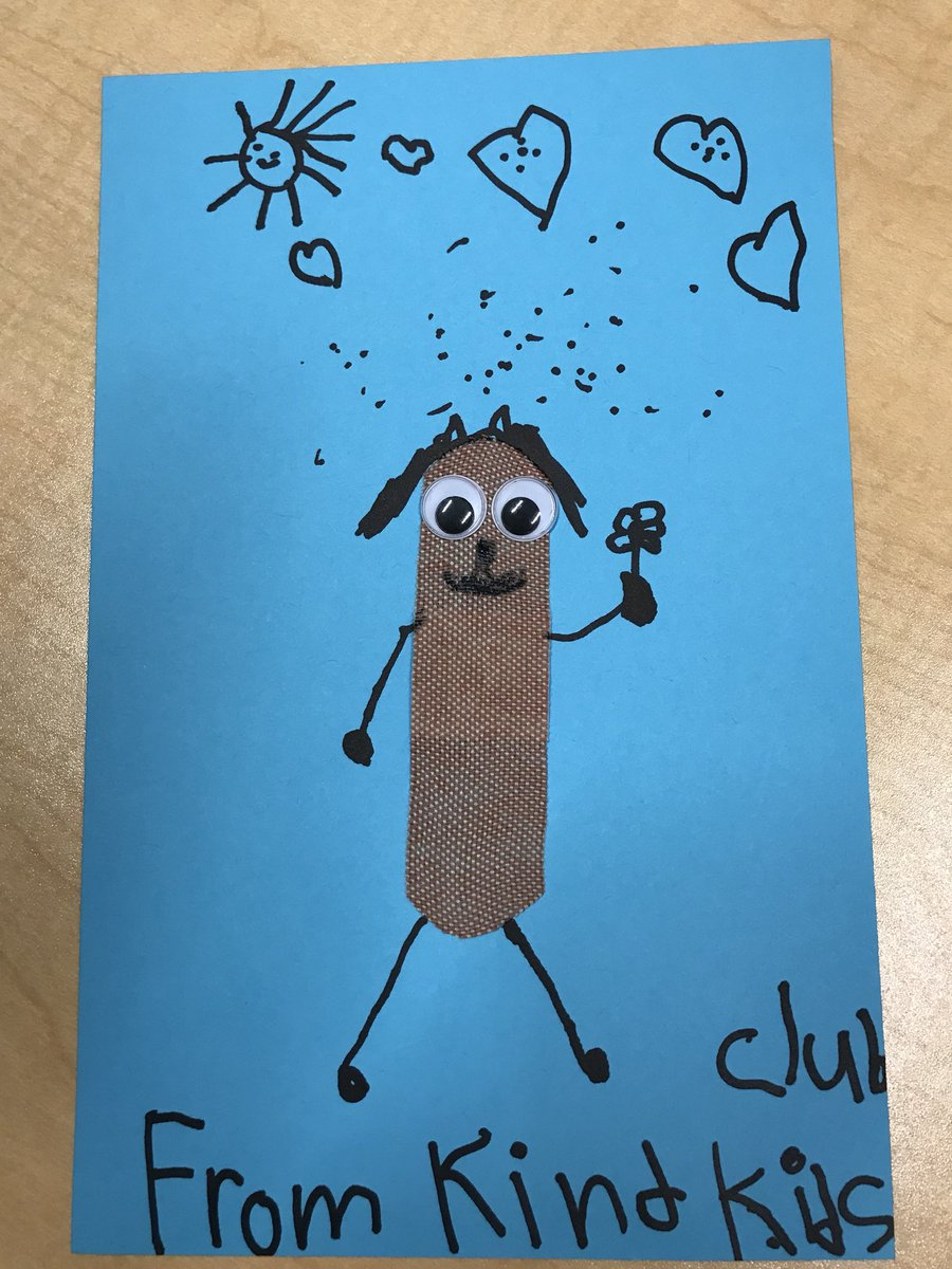 Caroline Hines On Twitter Kindertk Students Made Get Well Cards