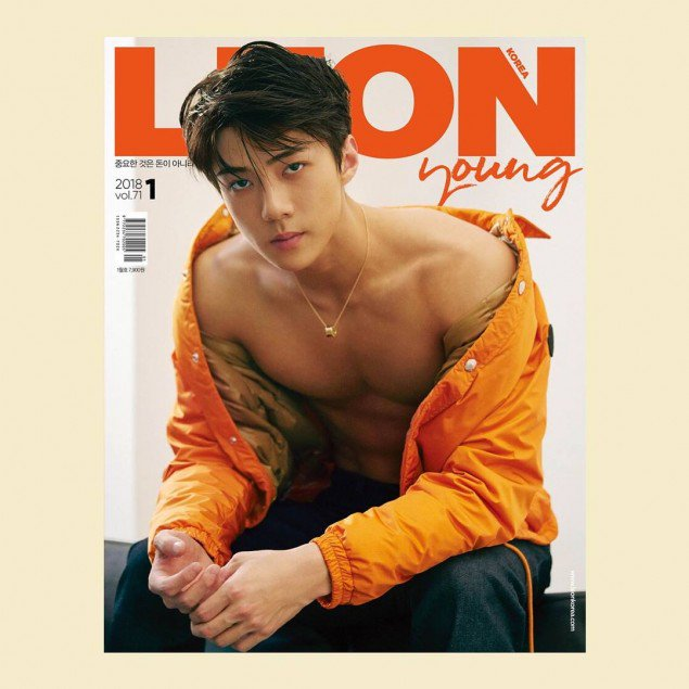 EXO's Sehun is the sexy cover model of 'Leon' magazine https://t.co/LHPH0YfF2i