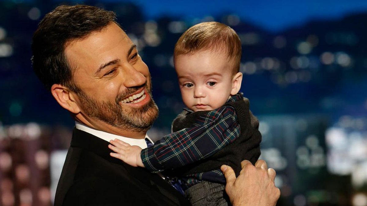Jimmy Kimmel brings son Billy along for his late night return, tears up while urging Congress to #RenewCHIP. https://t.co/xhqsr1G277