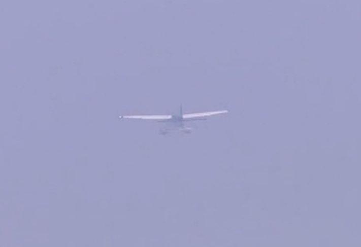Sea plane takes off from Sabarmati river...