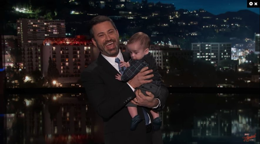 Jimmy Kimmel returns with his little son Billy, after his second heart surgery https://t.co/A4RQbzd2iC