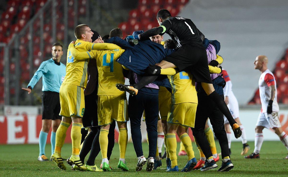 The first Kazakhstani team through to a...