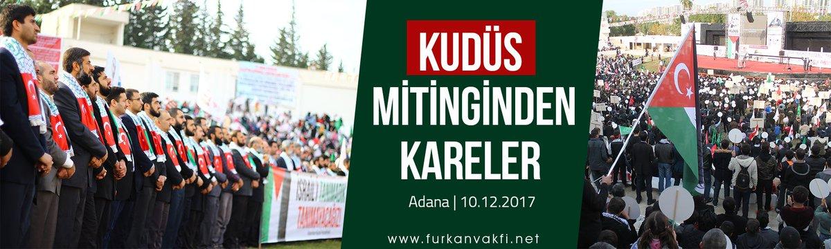 Kudüs Mitinginden Kareler (Adana   10.12...