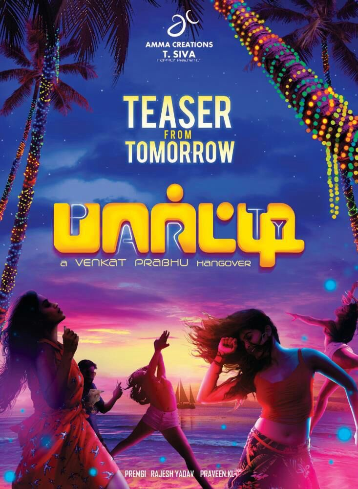 Are you ready for the #Party 🎉🎉🎉 @vp_offl #Party teaser from tomorrow 💃💃💃🕺🕺🕺 https://t.co/3GfimKzw4i
