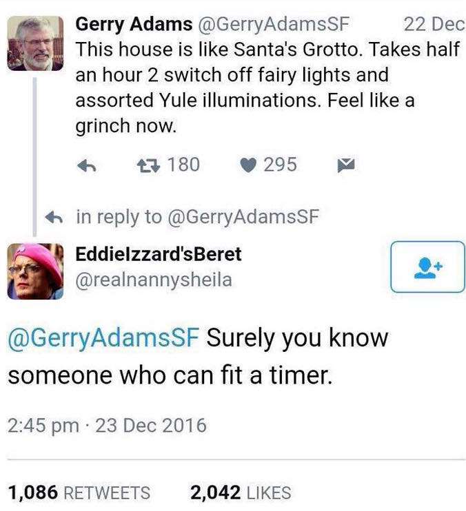 Never forget the greatest Christmas Twit...