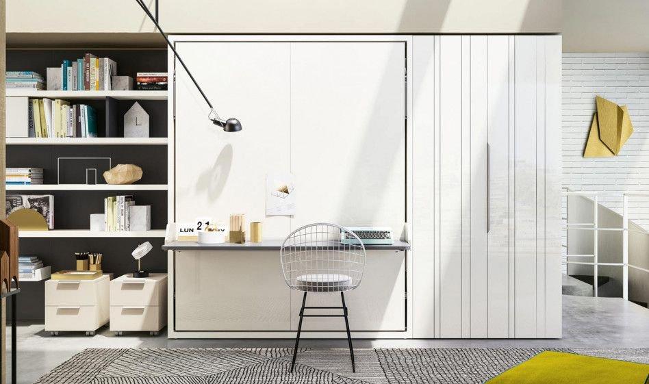 klappbett mit schreibtisch. Black Bedroom Furniture Sets. Home Design Ideas