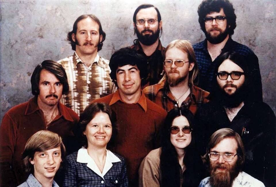In the early days of Microsoft, you didn&#39;t get hired unless you could prove you&#39;d murdered at least six women. #TuesdayTrivia <br>http://pic.twitter.com/8zPpA3RRaz