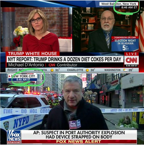 RT @MarkDice: CNN vs Fox News after a member of ISIS tried to suicide bomb New York City Monday morning. https://t.co/9JvwNMO6WQ