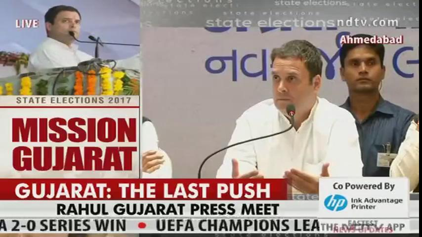 Just wait, Gujarat verdict will be 'zabardast', says Rahul Gandhi @OfficeOfRG #AssemblyElections2017 #GujaratElection2017   Watch LIVE: https://t.co/hMlRpgrUU6