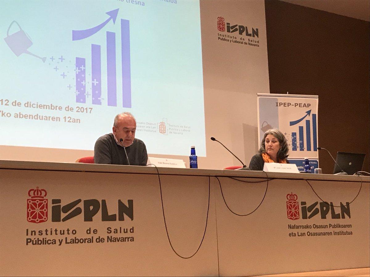 test Twitter Media - Arrancando la jornada de trabajo sobre indicadores positivos de esfuerzo preventivo en Pamplona, gracias al Instiruto de salud Pública y Laboral y Navarra https://t.co/ka7TTN3rcH
