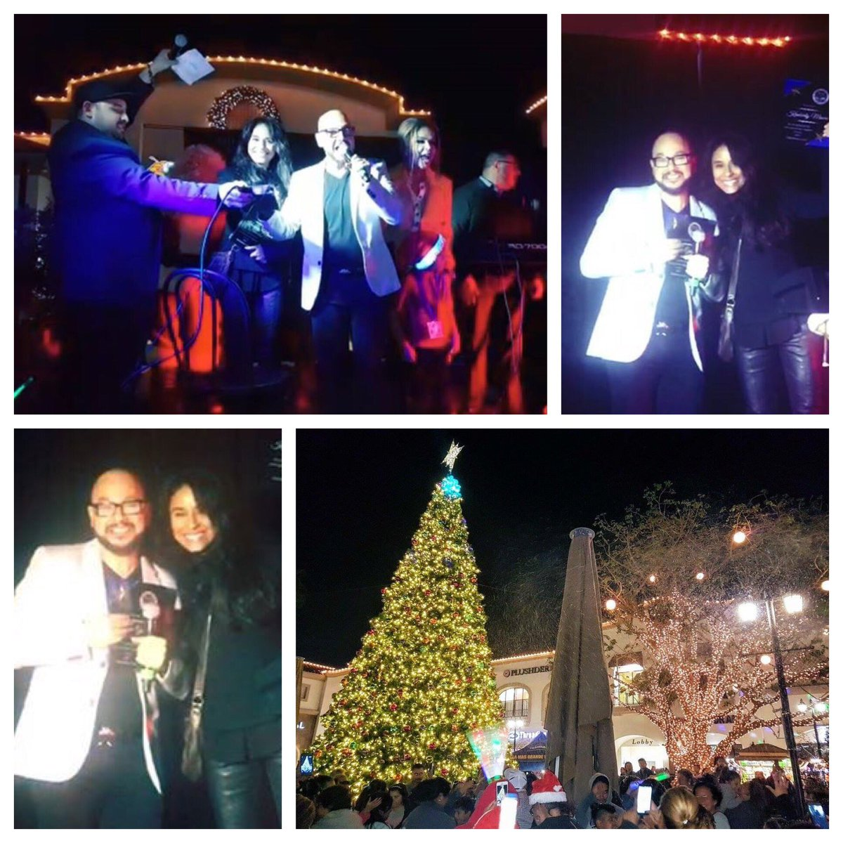 This year I got to light the Christmas tree w/@pepegarza of #QueBuena 105.5 FM, known as one of most influential figures in Mexican regional music to kickoff the holiday season w/local members of Plaza La Alameda community & some of the @Adoptaletter kids we helped over the yearspic.twitter.com/JYuNNjbuyY
