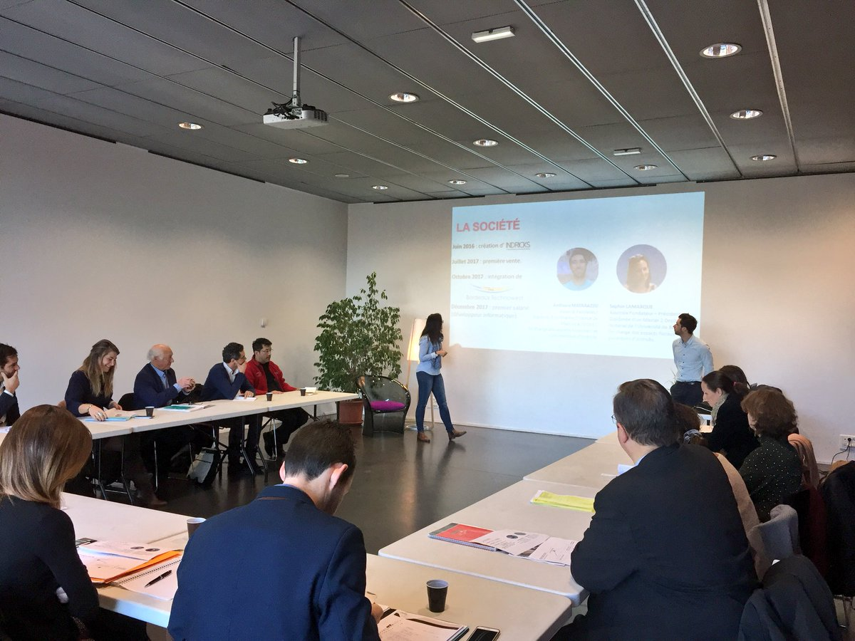 C'est parti pour le 1er comité d'agrément de #Copernic, l'incubateur-pépinière de @Bdx_Technowest spécialisé dans le #smartbuilding. Bienvenue à #Taka, @knock_home et @INDRICKS_ ! 🏠📲