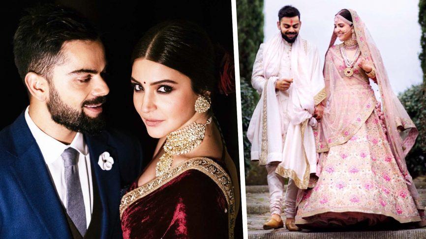 Virat kohli marriage photos video