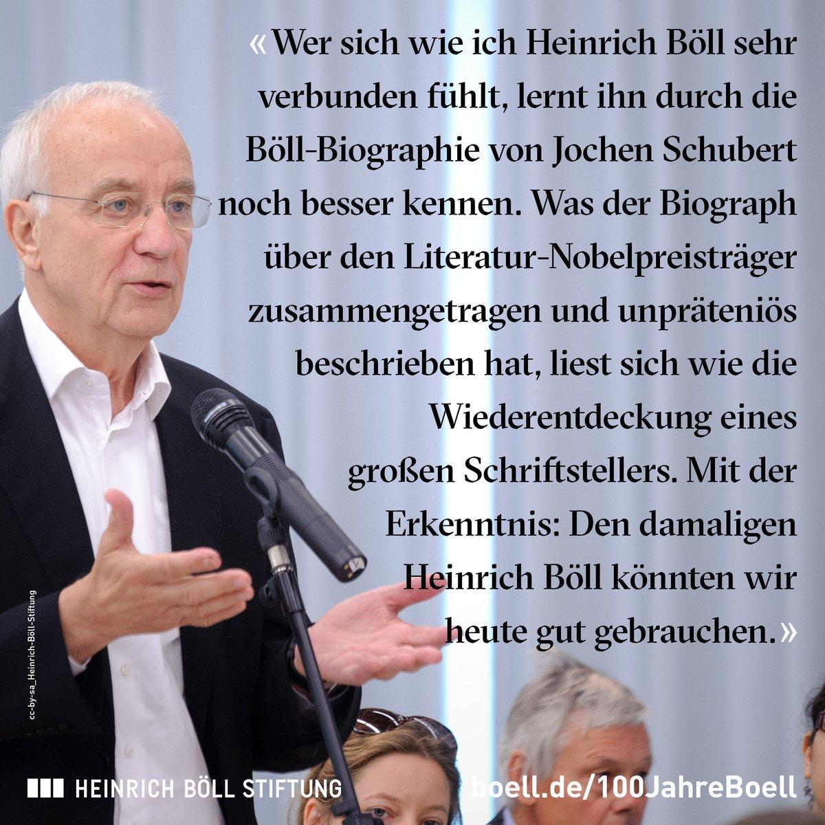 heinrich bll stiftung on twitter der journalist und frhere wdr intendant fritz pleitgen ber die bll biographie von jochen schubert - Heinrich Bll Lebenslauf