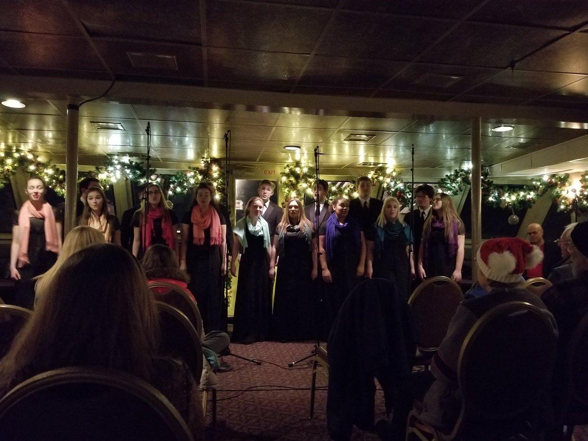 adina hicks on twitter argosy christmas ship thank you puyallup high school choir argosycruises - Argosy Christmas Ships 2014